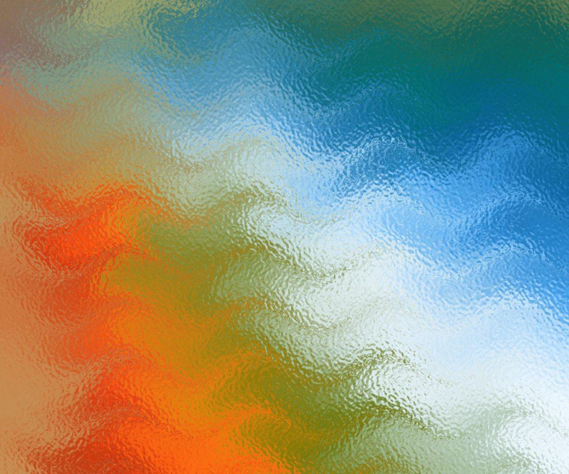 szkło w różnych odcieniach