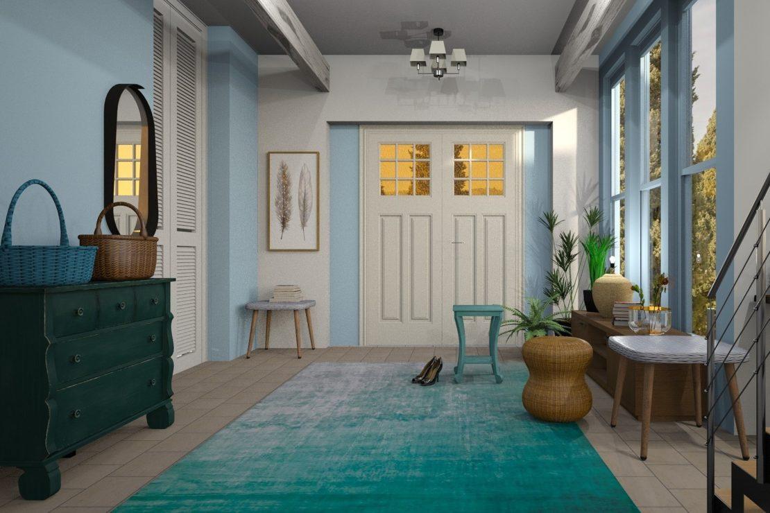 Drzwi ze szkłem